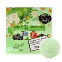 AGE 爱敬 橄榄绿茶香皂 100g*4块装