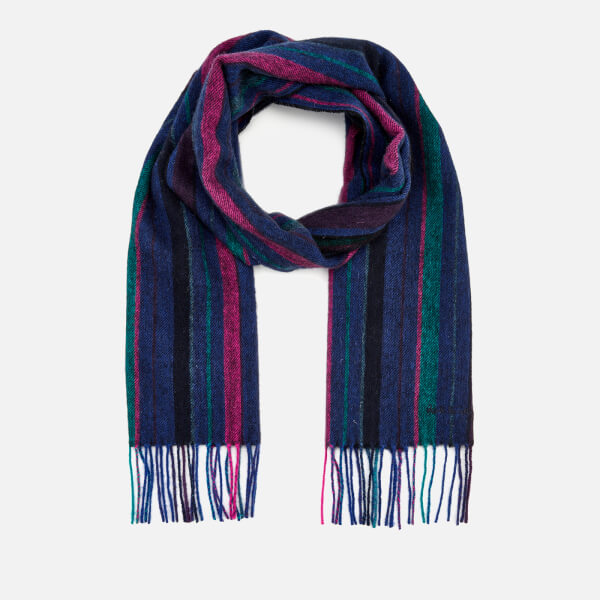 PAUL SMITH 男士针织羊毛围巾
