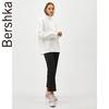 Bershka 06871372250 女士 白色宽松套头简约高领运动衫休闲卫衣 76元