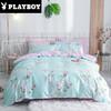 花花公子(PLAYBOY)家纺 北欧全棉四件套AB版四件套1.5m/1.8m床上用品床单被套200×230cm其他 159元