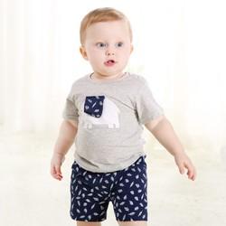 ciciibear 齐齐熊 婴幼儿纯棉短袖套装