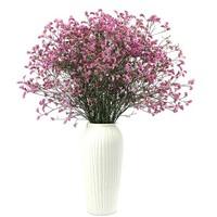 美猫 勿忘我/水晶草 干花花束 不含花瓶