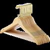 盼奇 PQ01 实木衣架 44.5*1.2cm 原木色10只装 18.8元(需用券)