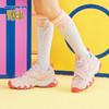Skechers斯凯奇女童2019春夏新款 老爹鞋休闲时尚熊猫鞋 996455L 319元