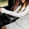 羚羊早安 女士春夏新款透气优雅蕾丝UV长款防晒手套 6.9元(需用券)