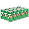 七喜 7UP 柠檬味 汽水碳酸饮料 330ml*15 19.9元