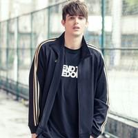 adidas 阿迪达斯 TR30J-BW 男款帽衫