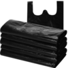 汉世刘家 黑色垃圾袋 手提式 32*52cm 100只 9.8元(需用券)