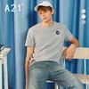A21夏季男装衣服短袖男潮流印花男士T恤衫圆领休闲男士上衣 59元