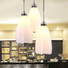 HD 海德照明 现代简约 三头玻璃餐吊灯 159元包邮