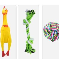 疯狂的小狗 狗狗玩具 三件套