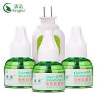 清诺  电热蚊香液 3瓶+加热器