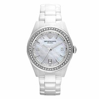 中亚Prime会员:ARMANI 阿玛尼 AR1426 女士时装腕表