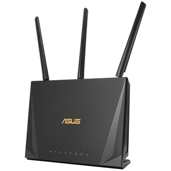 ASUS 华硕 RT-AC85P 2400M WiFi 5 家用路由器 黑色