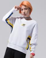 LI-NING 李宁  AWDN746 米奇联名  女子运动圆领衫