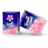 得宝(Tempo) 手帕纸 迷你4层加厚小包纸巾 7张*12包 樱花香味