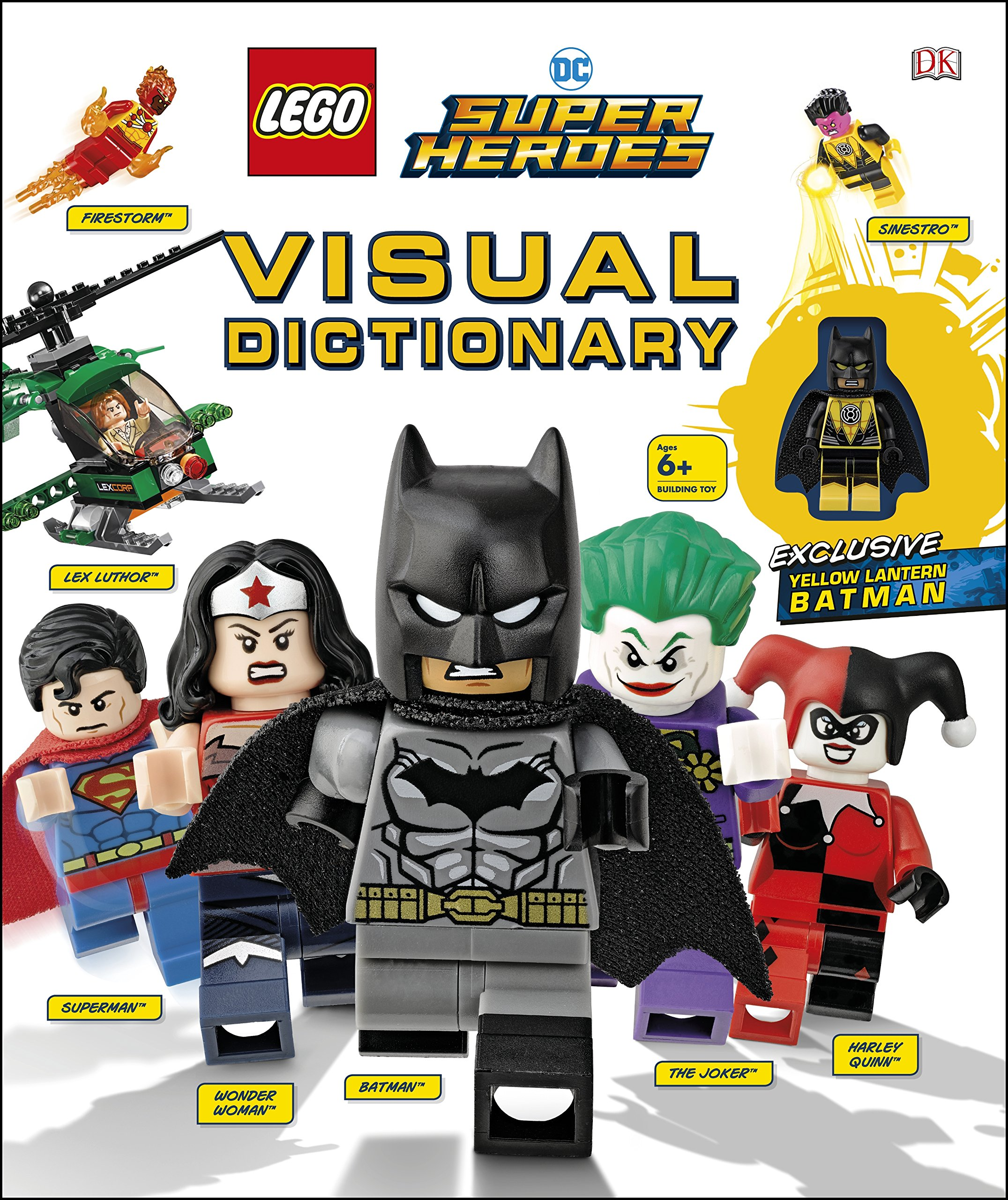 《LEGO DC Super Heroes Visual Dictionary: With Exclusive Yellow Lantern Batman Minifigure》