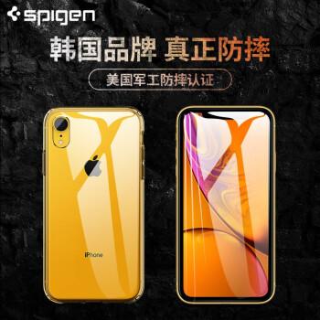 Spigen iPhone 手机壳 (XR、透明色)
