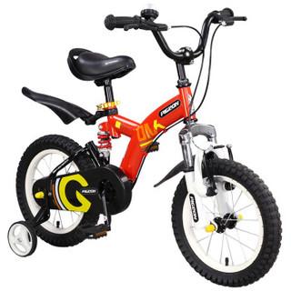 FLYING PIGEON 飞鸽 M1 儿童自行车 红色 16寸