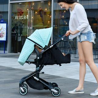 babysing A770A 避震高景观婴儿推车 蒂芙尼蓝