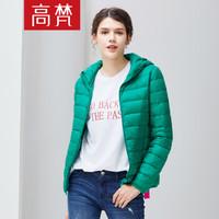 高梵 GOLDFARM 2018冬季女士棉纶羽绒服G1180255