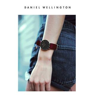 Daniel Wellington CLASSIC ROSELYN 36 女士手表 (不锈钢、圆形、白色)