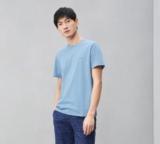 HLA 海澜之家 男士圆领T恤