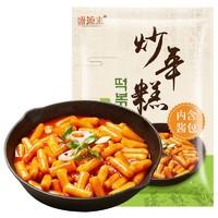 盛源来 辣炒年糕条+炒年糕酱套餐 230g