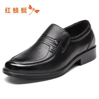 RED DRAGONFLY 红蜻蜓 WTA64631 男士商务休闲皮鞋