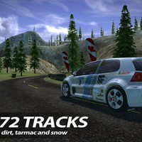 《Rush Rally 2(拉力竞速2)》iOS赛车竞速游戏