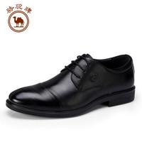 骆驼牌 W812283080 男士商务休闲德比鞋 黑色 41/255码