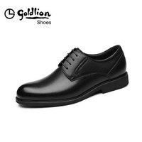 goldlion 金利来 580830571ADA 男士商务正装皮鞋 黑色 40码
