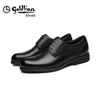 goldlion 金利来 580830571ADA 男士商务正装皮鞋 黑色 42码