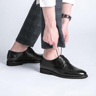 PLAYBOY 花花公子 6CW563010D01 男士商务正装皮鞋