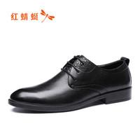 红蜻蜓 商务休闲皮鞋 *3件