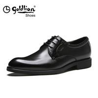 京东PLUS会员 : 金利来 男士商务正装休闲鞋 521730665ABA