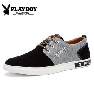 PLAYBOY 花花公子  CX39091 男士运动休闲板鞋