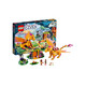 LEGO 乐高 ELVES 精灵系列 41175 火之飞龙的熔岩洞
