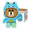 俐智(Loz)微颗粒积木 男女孩玩具模型 9790/小熊恐龙版800PCS *5件 195元(合39元/件)
