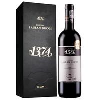 法国进口红酒 波尔多梅多克中级庄 乐朗1374古堡 干红葡萄酒 2014年 礼盒装 750ml