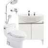 25日0点:toto浴室柜LDSW753W+CW886+TC376C+花洒套装组合 8299元