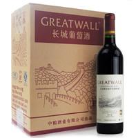 Great Wall 长城 干红葡萄酒 (箱装、12.5%vol、6、750ml)