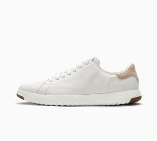 COLE HAAN 可汗 男款 小白鞋 (Grandpro Tennis、 C22584、42、白色)