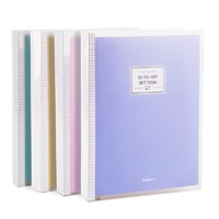 Guangbo 广博 多彩活页笔记本 A5/40张 粉色