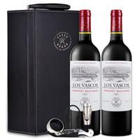 LAFITE 拉菲 红葡萄酒 (礼盒装、2、750ml)