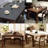 清仓款  白蜡木餐厅家具 餐桌 库存有限请联系客服核实库存再付款 1589元