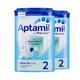 Aptamil 爱他美 婴儿奶粉 2段 900克