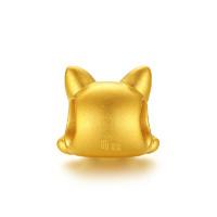 CHJ 潮宏基 CP0001451900 转运珠 (0.7g、1*0.9cm、金色+黑色)