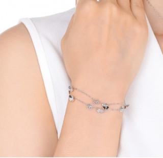 Chow Sang Sang 周生生 54284B 手链 (3g、19cm、银色)