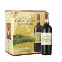 Great Wall 长城 天赋葡园干红葡萄酒 (箱装、13%vol、6、750ml)